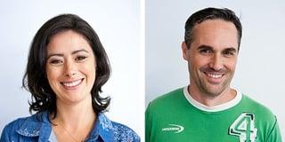 Photos of Goodworld Co-Founders Dale Nirvani Pfeifer and John Gossart