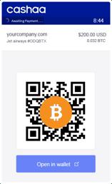 Bitcoin Payment Image