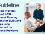 Guideline Provides Low-Cost 401(k) Retirement Planning Solutions for SMBs and Startups Long Underserved by Traditional Providers