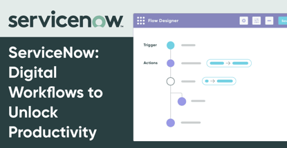 Servicenow Facilitates Digital Workflows To Unlock Productivity