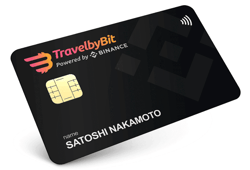 TravelbyBit Card