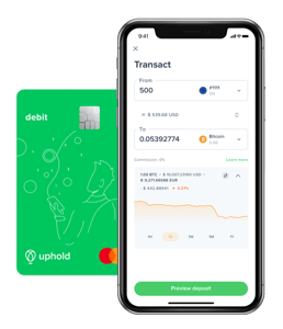 Uphold Debit Card and App