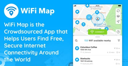 WiFi Map is the Crowdsourced App that Helps Users Find Free, Secure Internet Connectivity Around the World