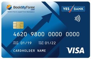 BookMyForex prepaid card