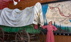 Bethany Nemec and a Covered Wagon