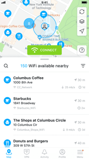WiFi Map Screenshot