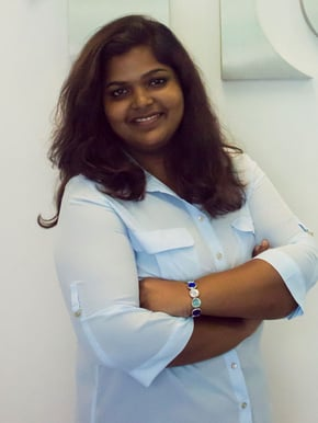 Arabdha Sudhir, Marketing director and Co-Founder of Iconic Lab