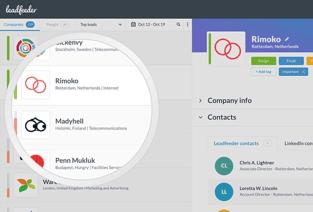 Leadfeeder Screenshot