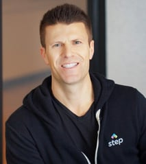 Photo of Step Founder and CEO CJ MacDonald