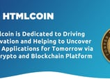 Htmlcoin is Dedicated to Driving Innovation and Helping to Uncover New Applications for Tomorrow via Its Crypto and Blockchain Platform