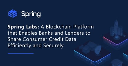 Spring Labs Allows Secure Sharing Of Consumer Data
