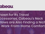 Known for Its Travel Accessories, Cabeau's Neck Pillows are Also Finding a Niche in Work-From-Home Comfort