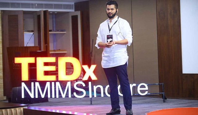 Merrchant CEO Navrajvir Singh Speaking at TEDx