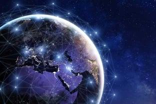 Global Blockchain Graphic