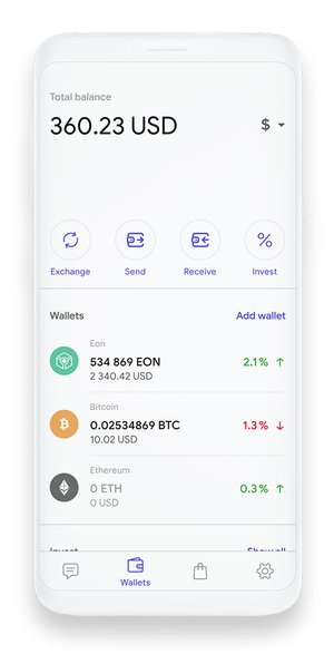 Channels Messenger App and Wallet