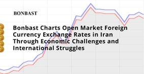 Bonbast Charts Open Market Foreign Currency Exchange Rates in Iran Through Economic Challenges and International Struggles