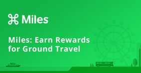 Miles is a Frequent Flyer Program for Ground Transportation that Promotes Eco-Friendly Travel with Appealing Rewards