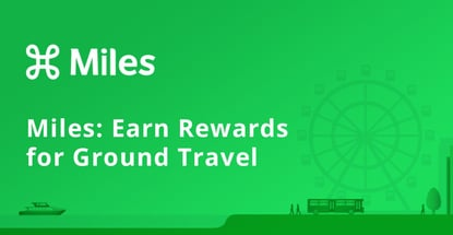 Miles Lets Users Earn Rewards For Ground Travel