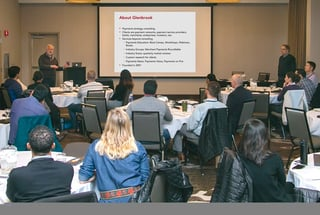 Photo of in-person Glenbrook Payments Boot Camp
