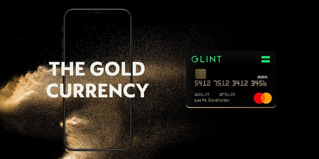 Glint - The Gold Currency