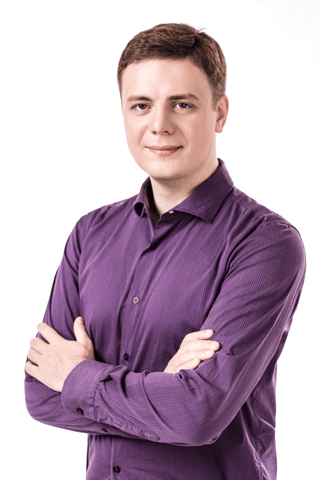 Photo of Alexander Busarov, CEO of Taeltech
