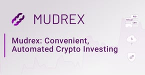 Mudrex: Convenient, Automated Crypto Investing