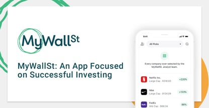Mywallst Is An App Focused On Successful Investing