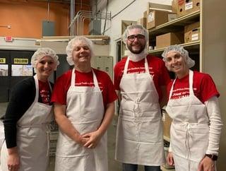 Photo of Capitol Bank volunteers