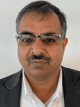 Photo of Pankaj Choudhary, Head of Banking and Financial Services at Mindtree