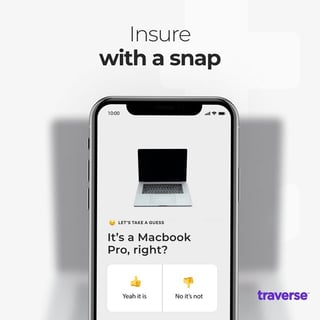 Photo of Traverse app on mobile device