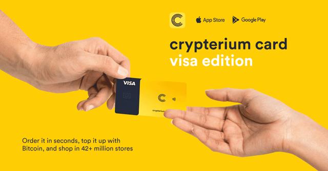 Crypterium Card Visa Edition