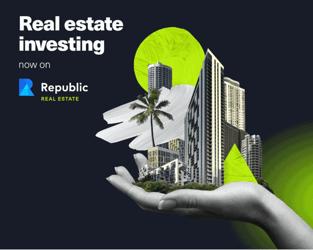 Republic Real Estate Launch Graphic