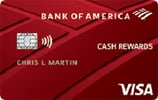 Bank of America® Cash Rewards Secured credit card Review