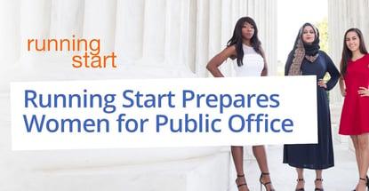 Running Start Prepares Women For Public Office