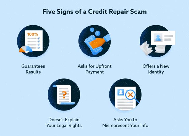 Five Signs of a Credit Repair Scam