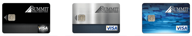 The Summit Federal Credit Union Credit Cards