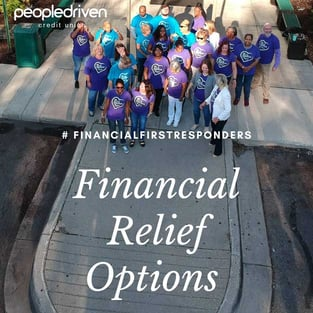 People Driven Credit Union Financial Relief Photo