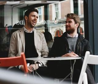 Photo of Carl Friedrik Founders Niklas and Mattis Oppermann
