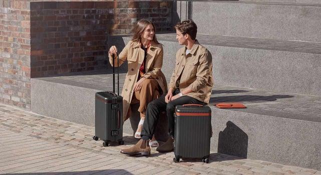 Photo of Carl Friedrik luggage