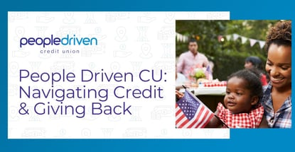 People Driven Cu Is Navigating Credit And Giving Back