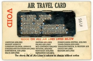Air Travel Card