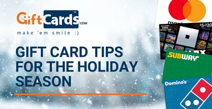 Gift Card Tips For The Holiday Season