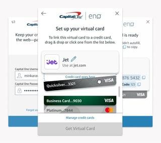 Capital One Eno Virtual Card