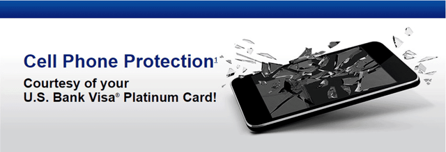 U.S. Bank Cell Phone Protection Banner