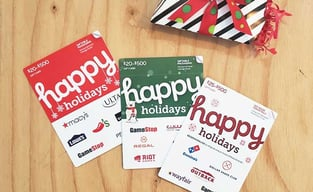 GiftCards.com Holiday Cards