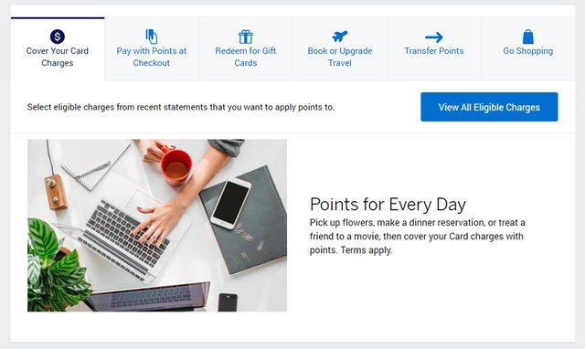American Express Membership Rewards Website