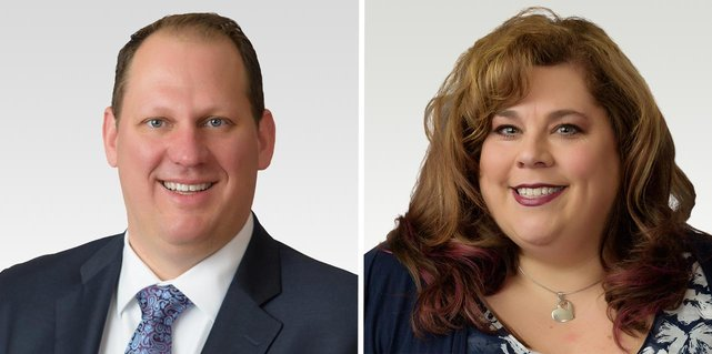 Photo of The Bancorp's Steve Turza and Patti Brands