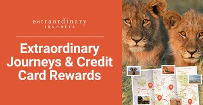 Extraordinary Journeys And Credit Card Rewards