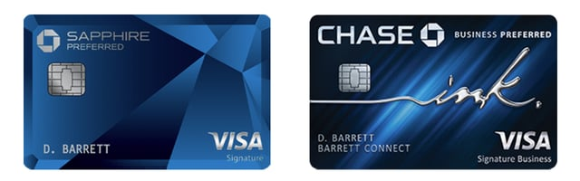 Sapphire Preferred and Business Preferred Cards