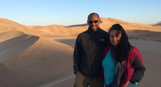 Photo of World Footprints Founders Ian and Tonya Fitzpatrick